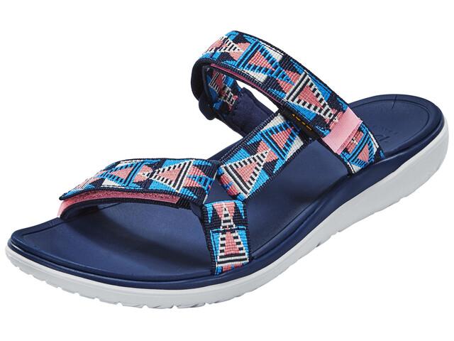 Teva Terra-Float Lexi Sandals Women Mosaic Pink/Blue